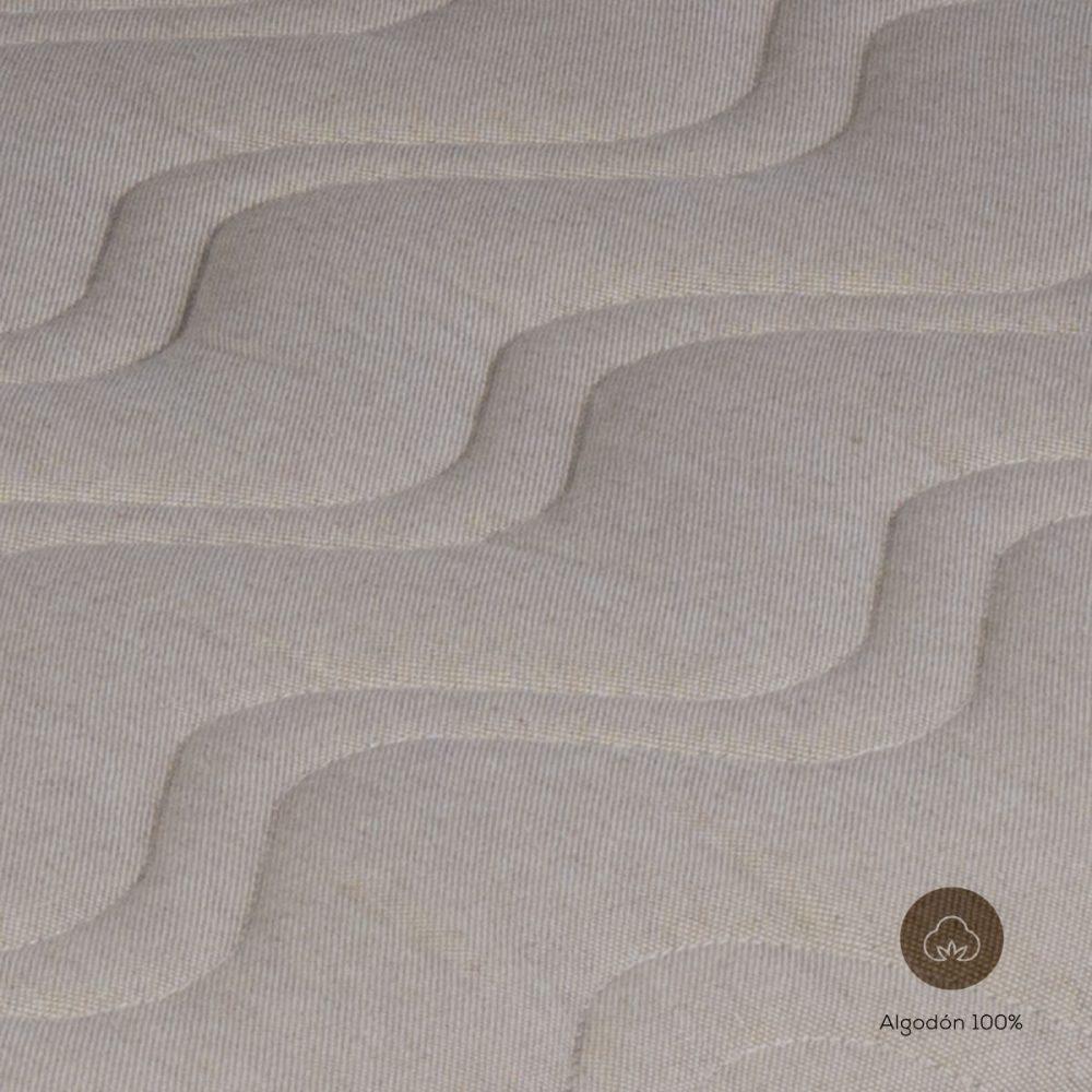 Colchón capazo natural textura